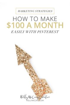 Learn how I make $100 a month easily with Pinterest. I'm not one to shy away from money, no matter how little it is. Hey, $100 isn't anything to sneeze at, am I right? I made the decision to try an experiment, and it worked. Keep reading for a video tutorial and how I make $100 a month easily with Pinterest…