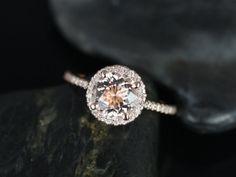 Kubian Original Size 14kt Rose Gold Thin Round by RosadosBox, $950.00