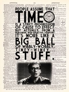 Doctor Who David Tennant Timey Wimey Quote by TheRekindledPage