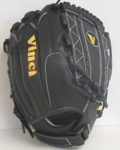 Vinci RCV125 Black 12.5 inch All Leather Fast Pitch Glove  http://www.vincipro.com/cart/rcv125-black-12.5-all-leather-fast_pitch-glove.html