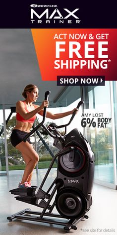 New Bowflex Max Trainers Better than an Elliptical #exercise #fitness