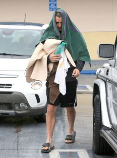 Gavin Rossdale | 43 Celebrities Who Swear By Yoga | Loved and pinned by www.downdogboutique.com