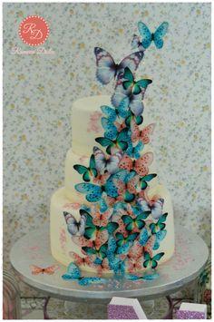 PASTEL DE MARIPOSAS BUTTERFLY CAKE
