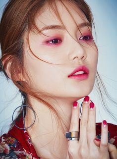 Hwang Do Kyung by Kim Jiwon for Stella Dec 2016