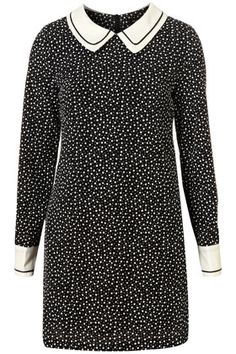 This dress is so perfect and gets plus points for the tiny flower print as my wardrobe is currently saturated with polka dots. Nice to see something a bit different