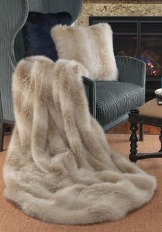 InStyle-Decor.com Luxury Fashion Designer Faux Fur Throws, Blankets, Pillows & Cushions. Professional Inspirations for AIA, ASID, IIDA, IDS, RIBA, BIID Interior Architects, Interior Specifiers, Interior Designers, Interior Decorators. Check Out Our On Line Store for Over 3,500 Luxury Designer Furniture, Lighting, Decor & Gift Inspirations, Nationwide & International Shipping From Beverly Hills California Enjoy Whats Trending in Hollywood
