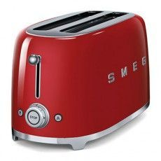 Shop SMEG Red Toaster at Lowe's Canada. Find our selection of toasters & toaster ovens at the lowest price guaranteed with price match. Kitchenaid Toaster, Red Kitchen, Small Kitchen Appliances, Kitchen Gadgets, Home Appliances, Domestic Appliances, Breakfast, Home, Kitchens