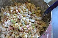 Nämä pastasalaatit on nyt meillä kovin IN! Kun edelliset on syöty niin jo pukkaa uutta. Meiän suosikki on viime aikoina ollut ehdottoma... Cooking Recipes, Healthy Recipes, Cooking Ideas, Pasta Salad, Salad Recipes, Potato Salad, Food Porn, Good Food, Food And Drink