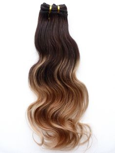 Virgin Hair And Beauty Balayage Ombre Hair Extensions, Colour 2 to colour 18 with Balayage Highlights of colour 8