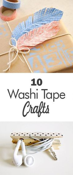 10 Washi Tape Crafts - 101 Days of Organization