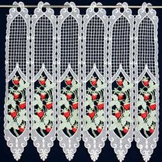 A wide range of high quality macrame curtains available online in custom size. Direct from French manufacturer, expert in lacemaking since