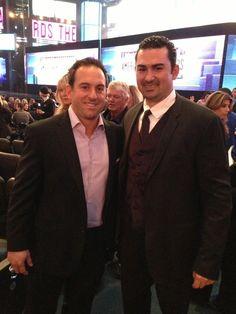 Nick Punto and Adrian Gonzalez