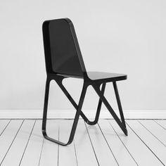 Peter Scherer Aluminum Chair Minimalist Design