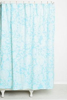 Plum & Bow Confetti Shower Curtain - Urban Outfitters