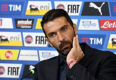 Gianluigi Buffon of Italy speaks to the media during the press conference at Juventus Stadium on October 5, 2016 in Turin, Italy.