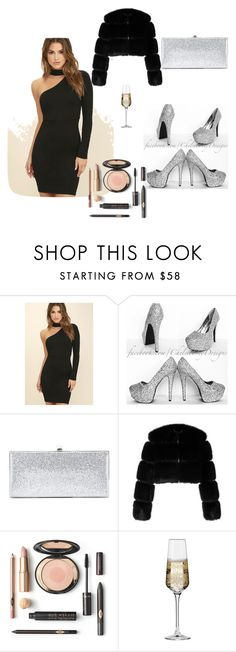 """""""Untitled #7"""" by medina-besic ❤ liked on Polyvore featuring LULUS, Jimmy Choo, Givenchy and Krosno"""