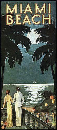 Vintage Florida. Yep, it's still exactly that classy...lol!