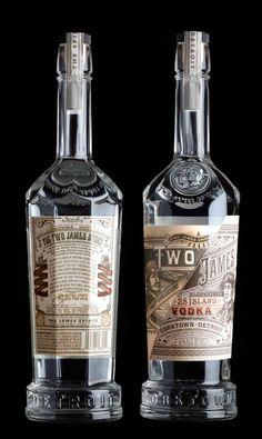 Two James Gin and Vodka. By Stranger & Stranger