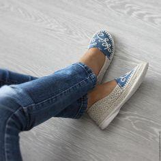 new concept eebe4 21bc1 Обувь ручной работы. Льняная обувь