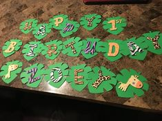 Items similar to Jungle Birthday Party Decorations on Etsy Jungle Party Decorations, Jungle Theme Parties, Jungle Theme Birthday, Safari Birthday Party, Animal Birthday, 2nd Birthday Parties, Birthday Decorations, Jungle Theme Food, Jungle Centerpieces