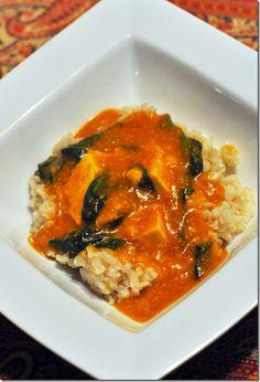 Pumpkin Tofu Curry #vegan