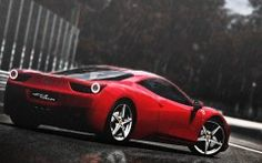 X Italia In The Rain Desktop Pc And Mac Wallpaper Hd F