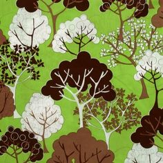 This would be a cute fabric to reupholster some cushions or make curtains or throw pillows or something.  Plus it's forest themed so it fits a camper.  :)