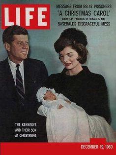*JOHN F. KENNEDY JR.'s ~  christening, Dec. 19, 1960