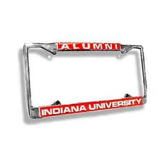 IU Alumni License Plate Frame | T.I.S. College Bookstore @ Indiana University
