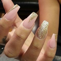 awesome Instagram photo by thenailboss #nail #nails #nailart / nude and gold nail design... pepino-nail-artdesign.xyz