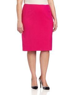 Anne Klein Women's Plus-Size Slim Skirt « Clothing Impulse