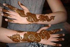 Lush Arabic Henna Design
