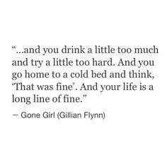 a long line of fine.