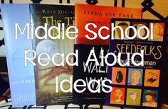 Looking for a great read aloud to start the school year in your middle school classroom?  Check out these recommendations.  #backtoschool