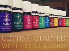 Getting Started With Essential Oils - how to use, FAQs, personal results, etc. GREAT resource for Essential Oils 101