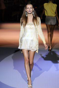 Zac Posen Spring 2009 Ready-to-Wear Fashion Show - Edita Vilkeviciute