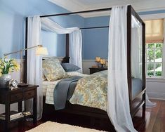 decorar cama con dosel
