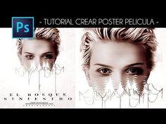 """Tutorial Photoshop: Crear Poster Pelicula """"El Bosque Siniestro"""" con #Photoshop by @StibenMorales -"""