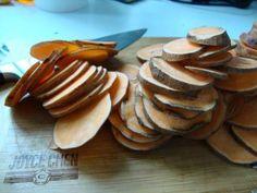 Sweet, sweet potato chips.