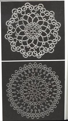 Tatted Doilies, etc. .... lots of tatting patterns here (written)