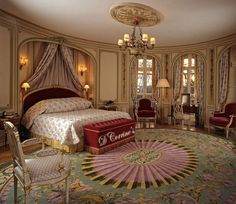 Another Classic Victorian design for the bedroom.