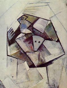 'Window', by Max Ernst, oil-on-canvas, 1958, Ernst Bayeler Gallery, Basel.