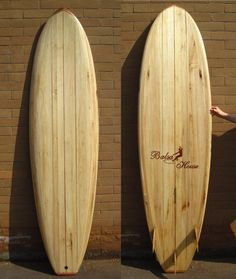 Tabla de Surf Madera de Balsa 7' #loveTillysBoardHouse, #Balsa Wood Surfboard Wooden Surfboard, Surfboards, Surfing, Shapes, House, Art, Wood Counter, Trident, Colombia