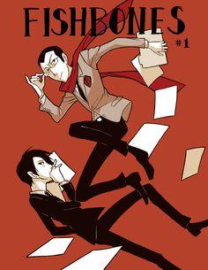 Bonus – Mini Comic Cover | Fishbones