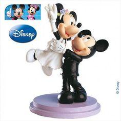 Mickey and Minnie wedding Figurine 18cm  от RUSTIKOcakeDecoratio