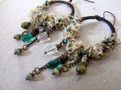 "saraccino: ""Sylvan stories"" - Earrings"