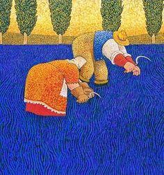 Pinzellades al món: Recolectant al camp: Lowell Herrero / Recolectando en el campo / Collecting in the field
