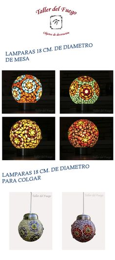 (6) Lampara Con Venecitas Oferta Promo Web - $ 580,00 en MercadoLibre