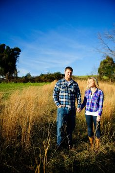 Our country engagement photos by Annabelle Dando