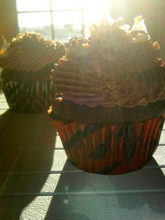 german chocolate filled cupcakes | Drag it Through the Garden